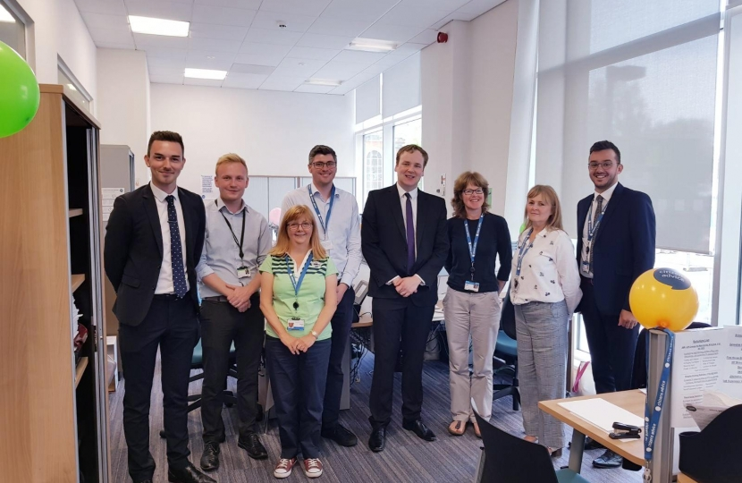 William meets with the Stockport CAB team