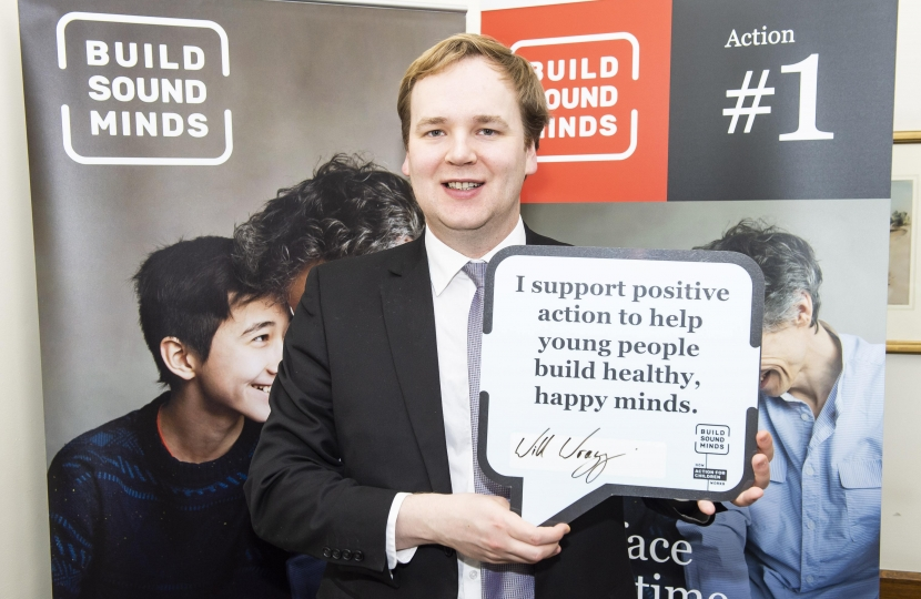 In Parliament William Wragg MP at the Action For Children Building Sound Minds Event