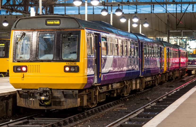 Northern Rail Train at Manchester Piccadilly