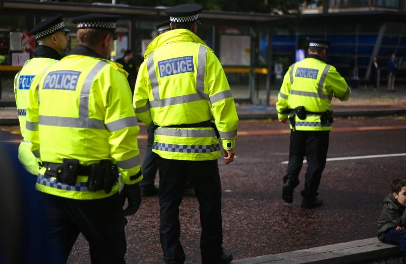 Police funding is set to increase