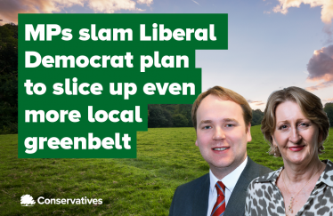William and Mary condemn Lib Dem plan to ruin local greenbelt